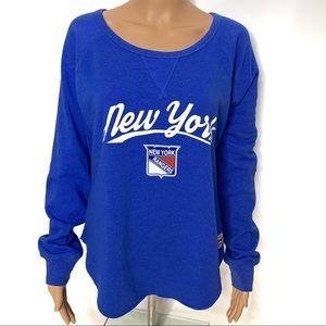 Sportige New York Rangers Blue Sweatshirt